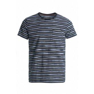 Camiseta rayas azules chico...