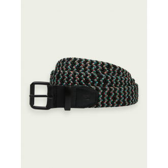 Cinturon trenzado elastico...